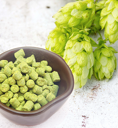 Leaf-And-Pelletized-Hops