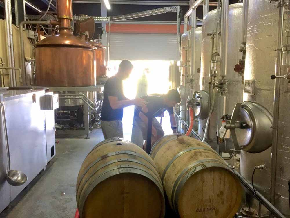 Talking Barrel Aged Beer with Christopher Barber