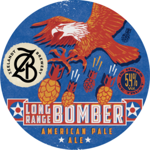 LONG-RANGE-BOMBER-Tap Badge